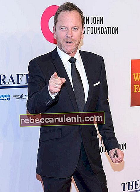 Kiefer Sutherland bei der Elton John Aids Foundation am 2. November 2015