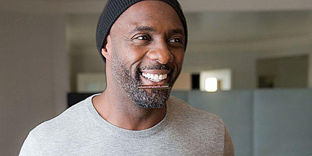 Idris Elba Височина, тегло, възраст, статистика на тялото