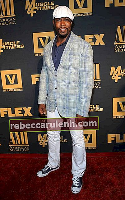 Michael Jai White bei der New Yorker Premiere von Generation Iron im September 2013