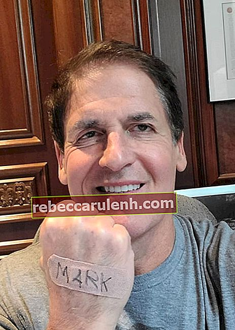Mark Cuban in einem Instagram-Selfie ab April 2020