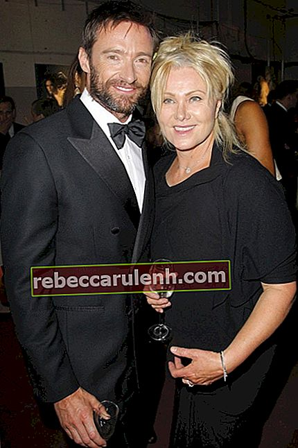 Hugh Jackman Ehefrau Deborra-Lee Furness