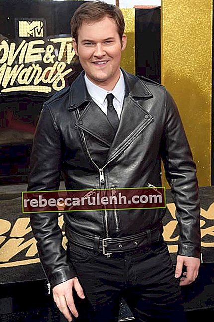 Justin Prentice bei den MTV Movie And TV Awards im Mai 2017
