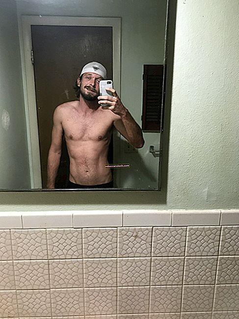 Адам Галлахер (блоггер) Рост, вес, возраст, статистика тела