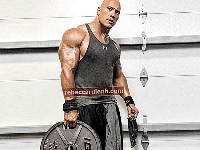 Dwayne Johnson Größe, Gewicht, Alter, Körperstatistik
