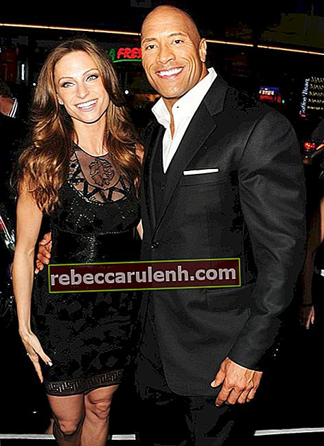Dwayne Johnson und Lauren Hashian