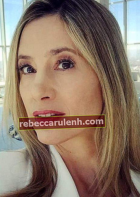 Mira Sorvino in einem Instagram-Selfie aus dem April 2017