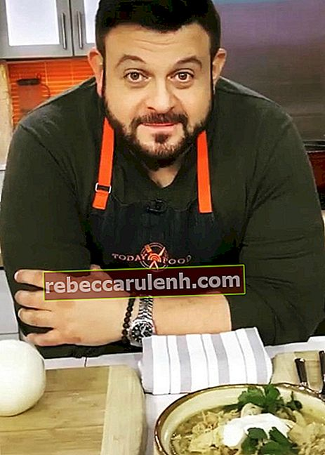 Adam Richman in einem Instagram-Post im Januar 2020
