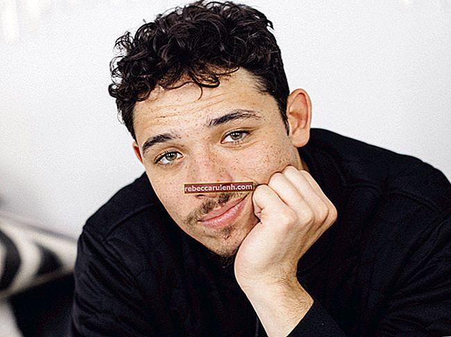 Антъни Рамос (актьор) Височина, тегло, възраст, статистика на тялото