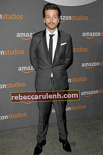 Diego Luna auf der Golden Globes Party der Amazon Studios im Januar 2017