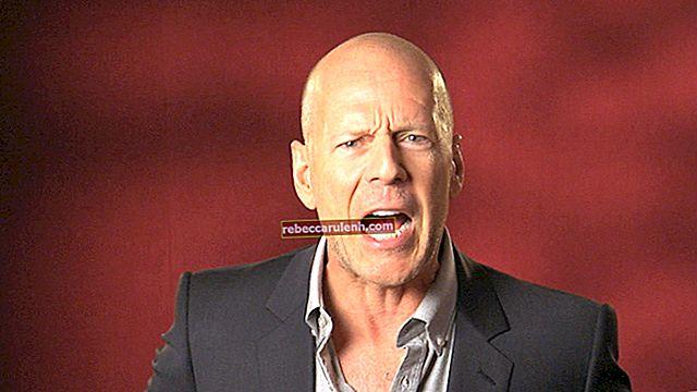 Bruce Willis Größe, Gewicht, Alter, Körperstatistik