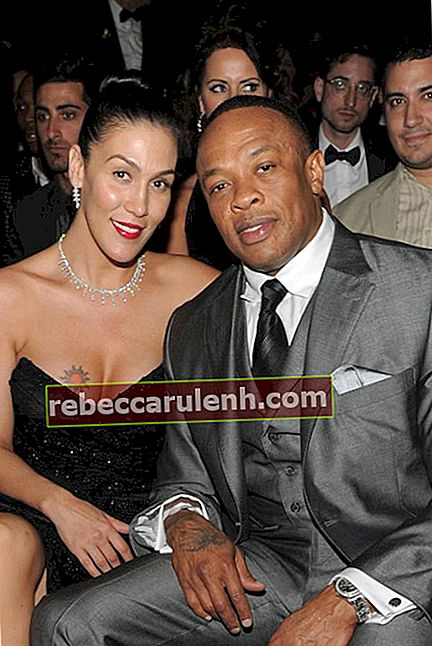 Dr. Dre und Nicole Young.