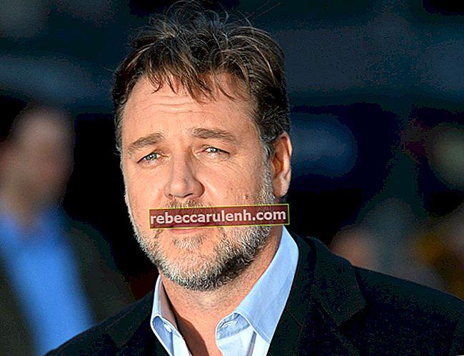 Russell Crowe Größe, Gewicht, Alter, Körperstatistik