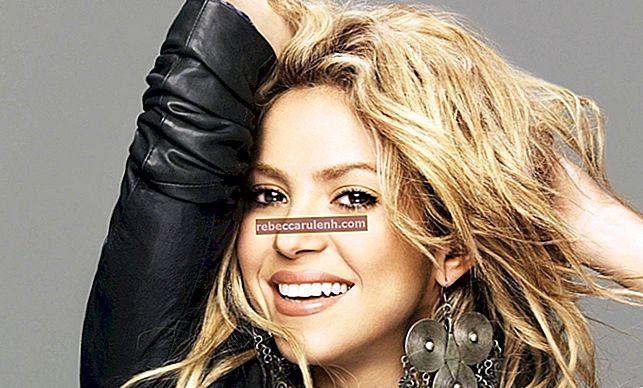 Shakira Größe, Gewicht, Alter, Körperstatistik
