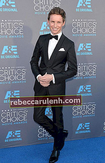 Eddie Redmayne bei den Critics Choice Awards 2015.
