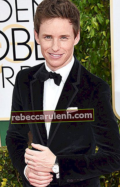 Eddie Redmayne bei den Golden Globe Awards 2015.