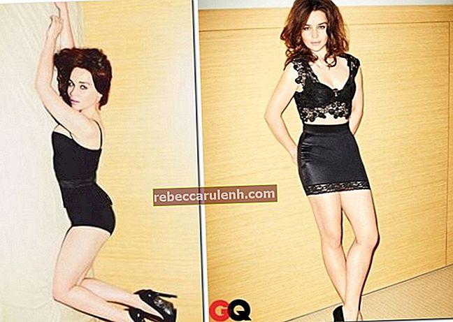 Emilia Clarke Größe, Gewicht, Alter, Körperstatistik