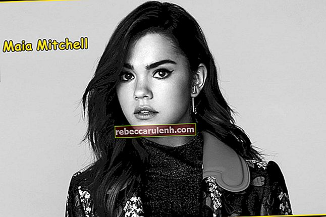 Maia Mitchell Taille, poids, âge, statistiques corporelles