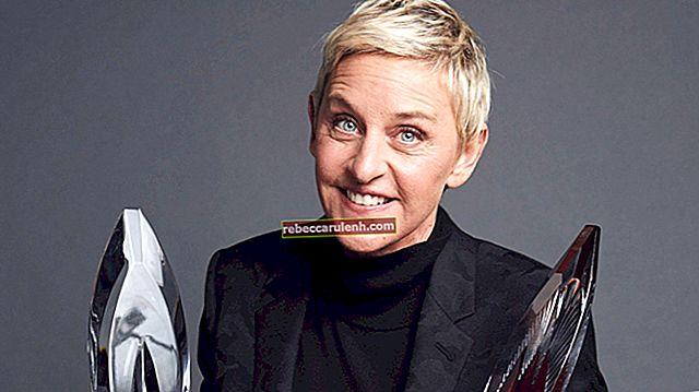 Ellen DeGeneres Größe, Gewicht, Alter, Körperstatistik