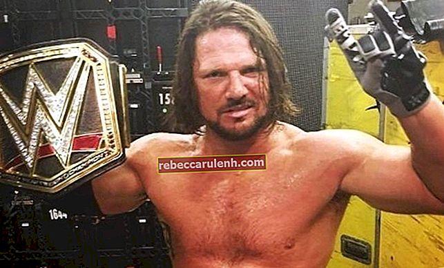 AJ Styles Височина, тегло, възраст, статистика на тялото