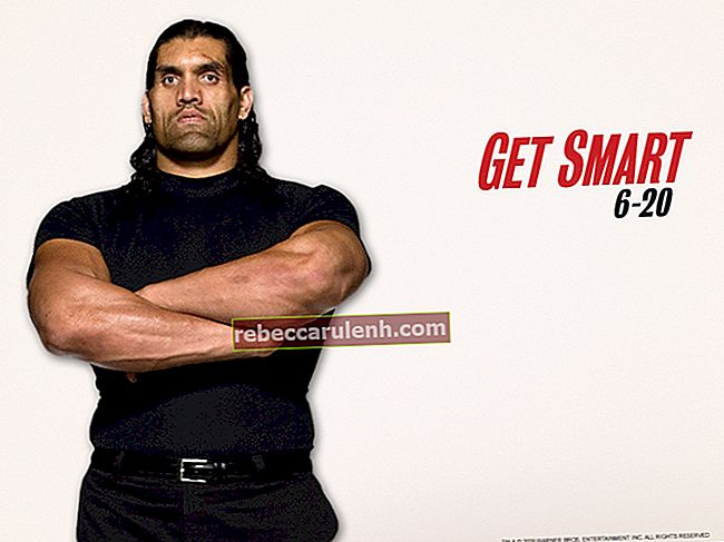 Die Great Khali Height Weight Body Statistik