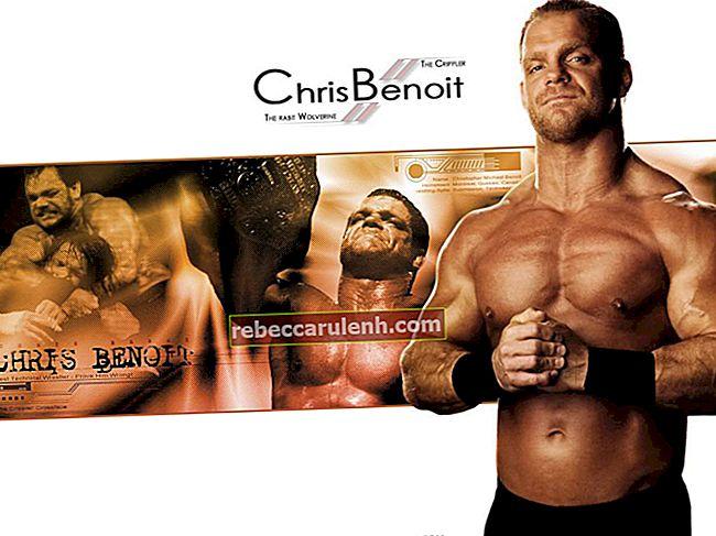 Chris Benoit Größe, Gewicht, Alter, Körperstatistik